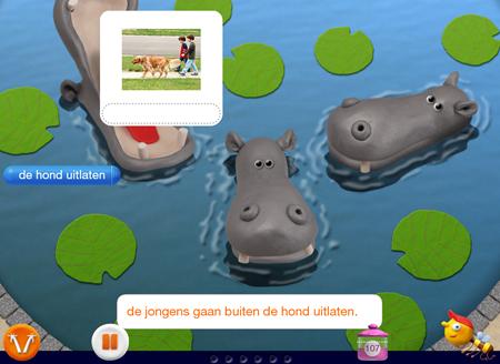 Leerlingsoftware Veilig leren lezen: woordenschat