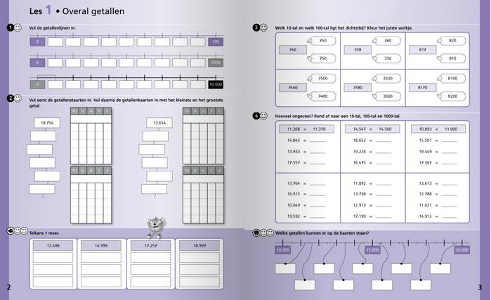 Oefenboek Wizwijs, rekenmethode van Zwijsen