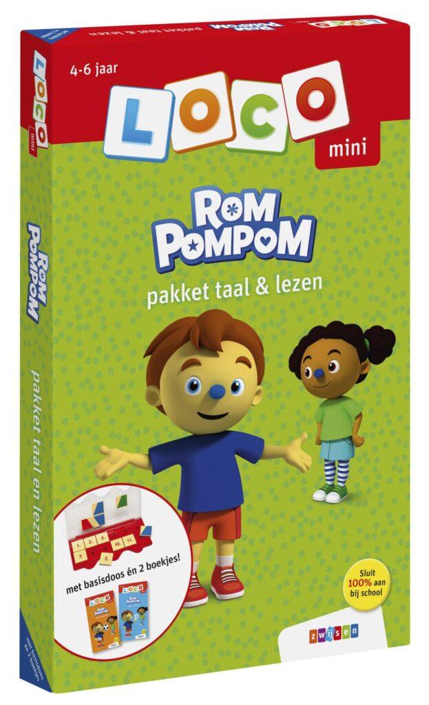 Loco leerpakket Taal & Lezen met Rompompom