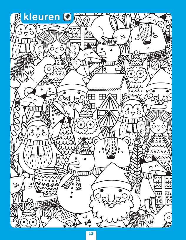 winterse werkbladen voor in de kerstvakantie zwijsen