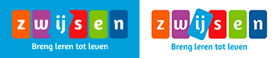 logo blauw en logo wit