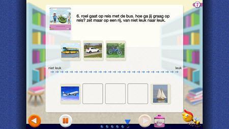 Leerlingsoftware Veilig leren lezen: leesbevordering