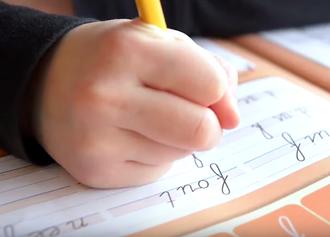 interview over het gebruik van schrijfmethode Pennenstreken van Zwijsen
