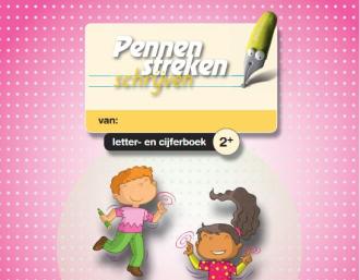 Letter- en cijferboek voor kleuters bij schrijfmethode Pennenstreken van Zwijsen