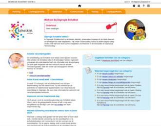 Digiregie, software bij kleutermethode Schatkist van Zwijsen