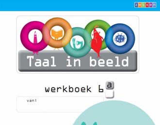 Werkboek lesmethode Taal in beeld van Zwijsen
