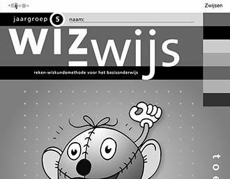 toetsboek Wizwijs, rekenmethode Zwijsen
