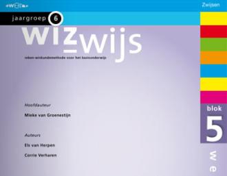 werkboek Wizwijs, rekenmethode van Zwijsen